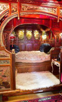 15 Dreamy Gypsy Wagon Interiors   Living Small   Pinterest ...