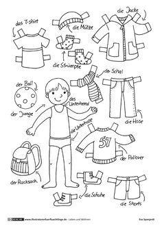 Download als PDF Leben und Wohnen - Kleidung Anziehpuppe