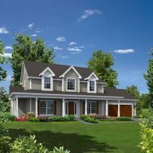 Grace Country Home House Plans Colonial And
