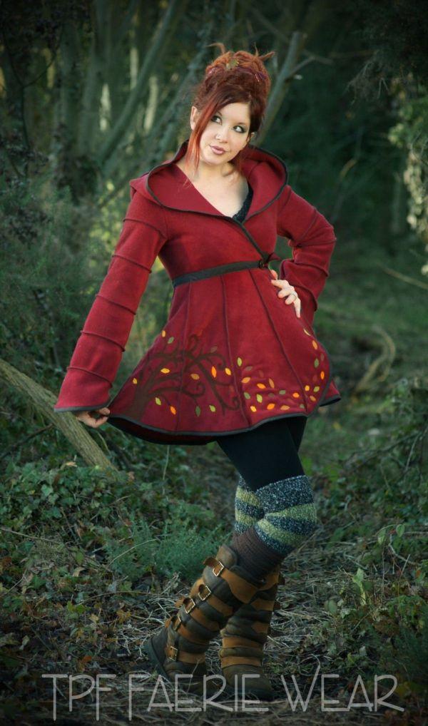 Alternative Clothing - Autumn Tree Short Tournedot Fleece