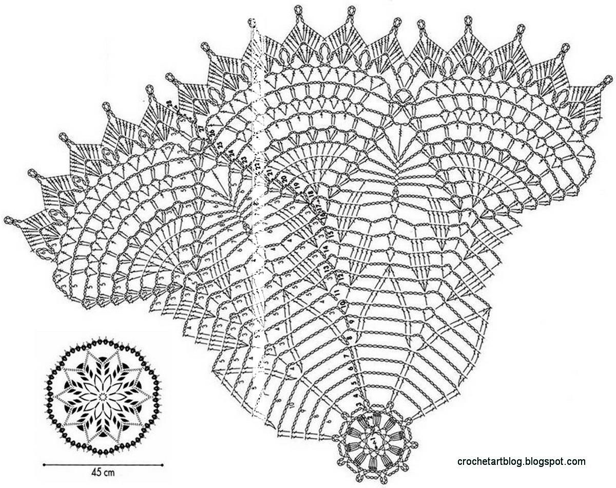 32 White Lace Crochet Tablecloth Part 2 Of 2