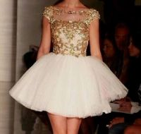 gold and white quinceanera dresses tumblr World dresses ...