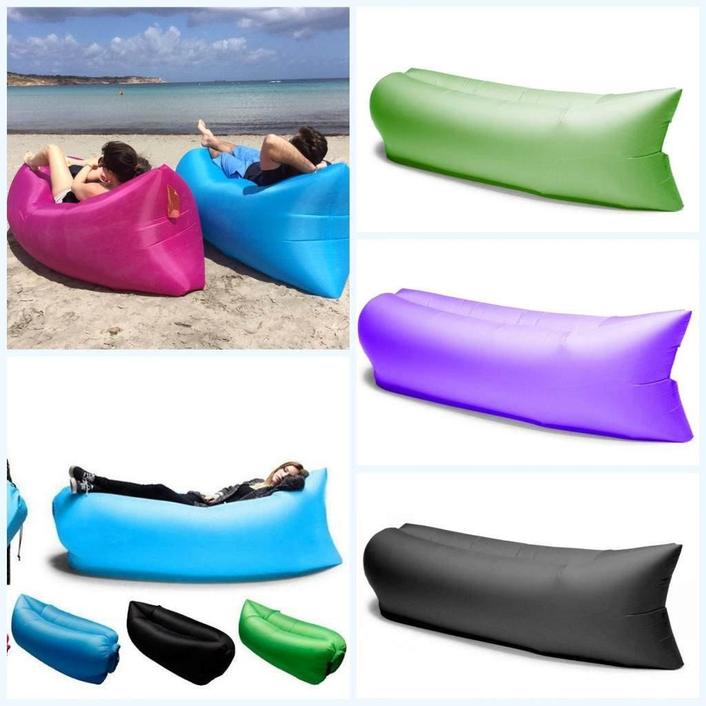 inflatable outdoor sofa chair hair design camping lazy