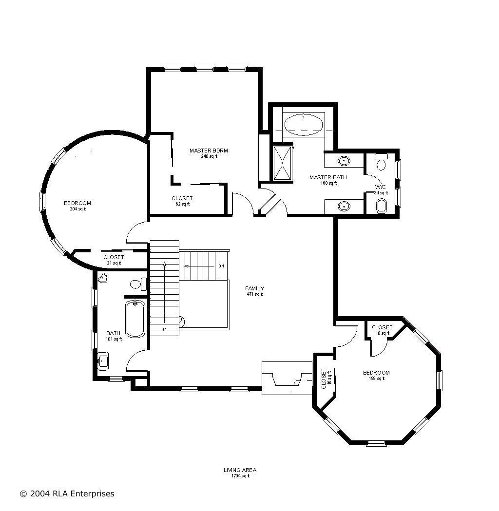 Victorian 2nd Floor
