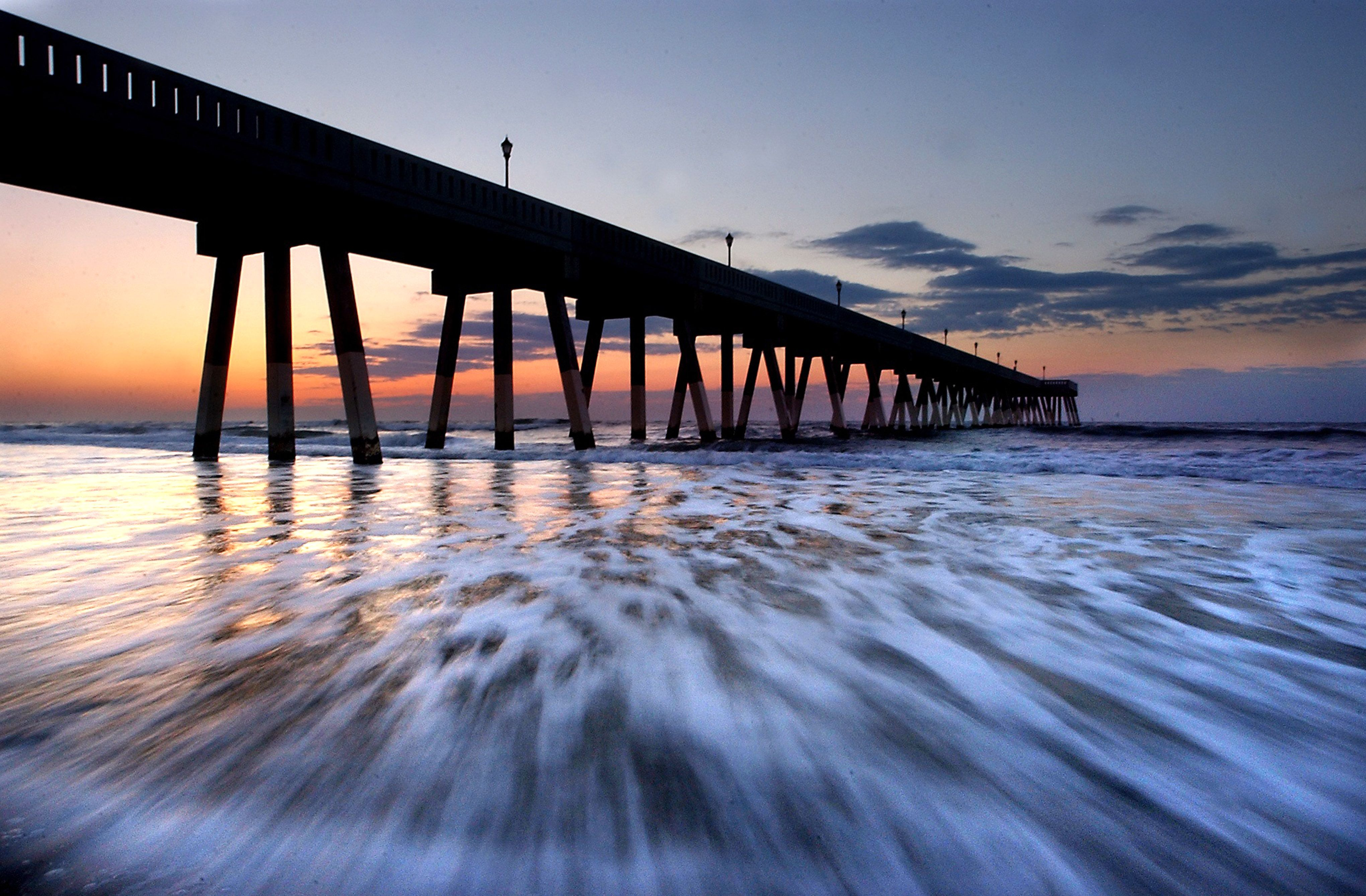 image detail for - of the fishing pier at wrightsville beach