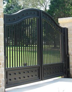 Steel gates residential swing also best images about on pinterest and rh