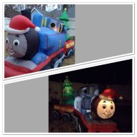 Thomas Tank Engine Train Inflatable Yard Blowup Christmas ...