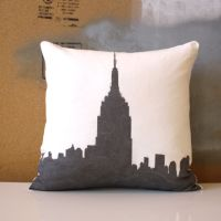 New York City Pillow Bundle - 2 Pillow Set - Decorative ...