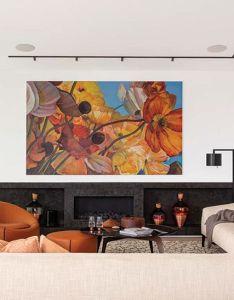 Beautiful salmon colour themes lounge also interior design pinterest rh