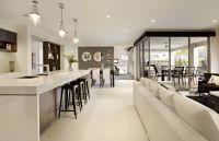 Gorgeous kitchen lounge with corner sliding door | Dream ...