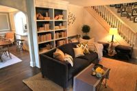 love this living room and home design. As seen on ...