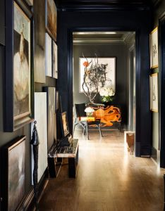 Upstairs gallery design by michel boyd smithboyd interiors photographed erica george dines atlanta homes  lifestyles also rh pinterest
