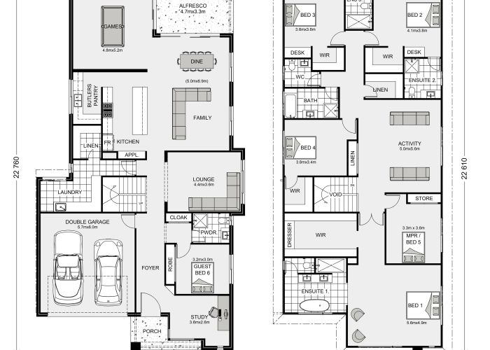 Manhattan home designs in newcastle   gardner homes also best images about floor plan on pinterest house plans