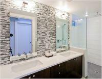 Bathroom Glass Backsplash | Thanks to Synthesis Design Inc ...