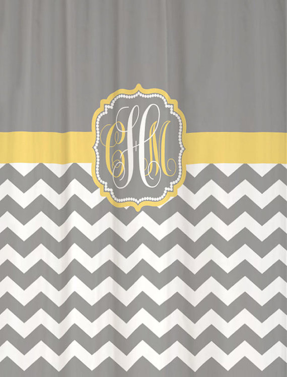Shower Curtain Chevron YOU CHOOSE COLORS 70 74 78 84 88 Or 96