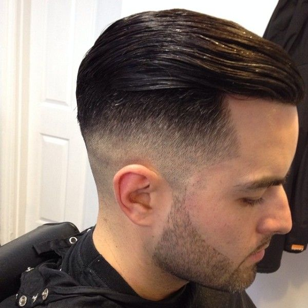 High Fade With Slick Back Combover Hairstyles Pinterest