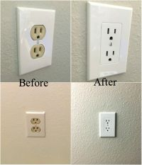 Easy Electrical Outlet Cover Tip to Fix Mismatched ...