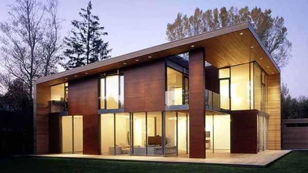 casaprefabbricata in legno  Cerca con Google  Case in legno  Pinterest  Wooden houses