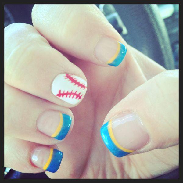 Milwaukee Brewers Nails