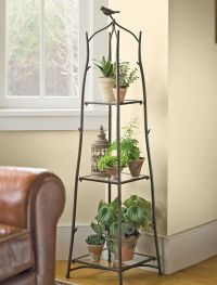 Portrait of Tall Plant Stands: Decorative and Functional ...