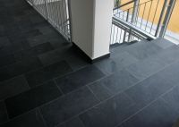 kitchen- slate tile w/ dark grout | Renovations ...
