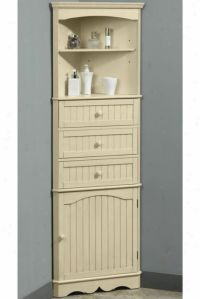 Corner Cabinet Bathroom Storage - Home Design