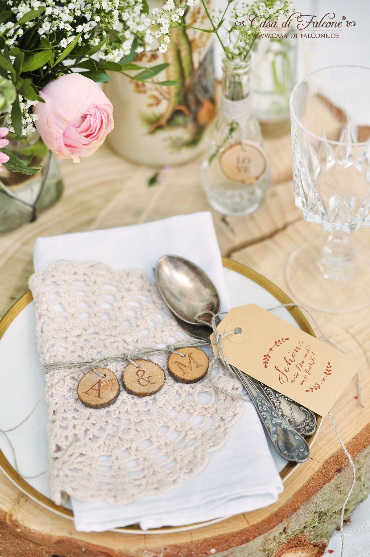 Holzscheiben Deko Hochzeit Tischdeko Naturlich Mit Gerbera