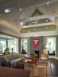 Vaulted ceiling, open beams, skylights | Home is where ...