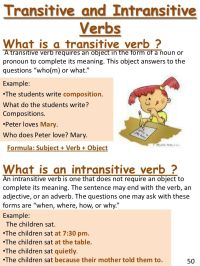 Best 25+ Intransitive verb ideas on Pinterest | Transitive ...