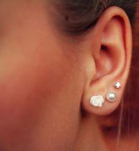 Triple Piercing | Ears peircing | Pinterest