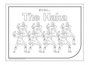 The Haka is a traditional Maori warrior dance, now