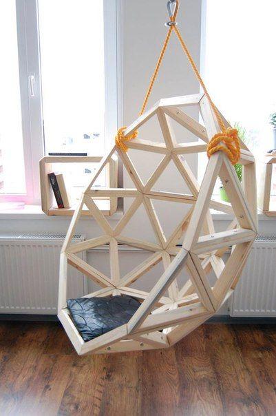 BY geodesic hang chair hangstoel