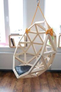 BY geodesic hang chair hangstoel
