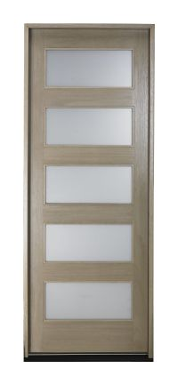 Pella's NEW contemporary front door design. For more ...
