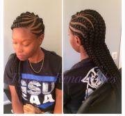 jumbo cornrow hairstyles fade