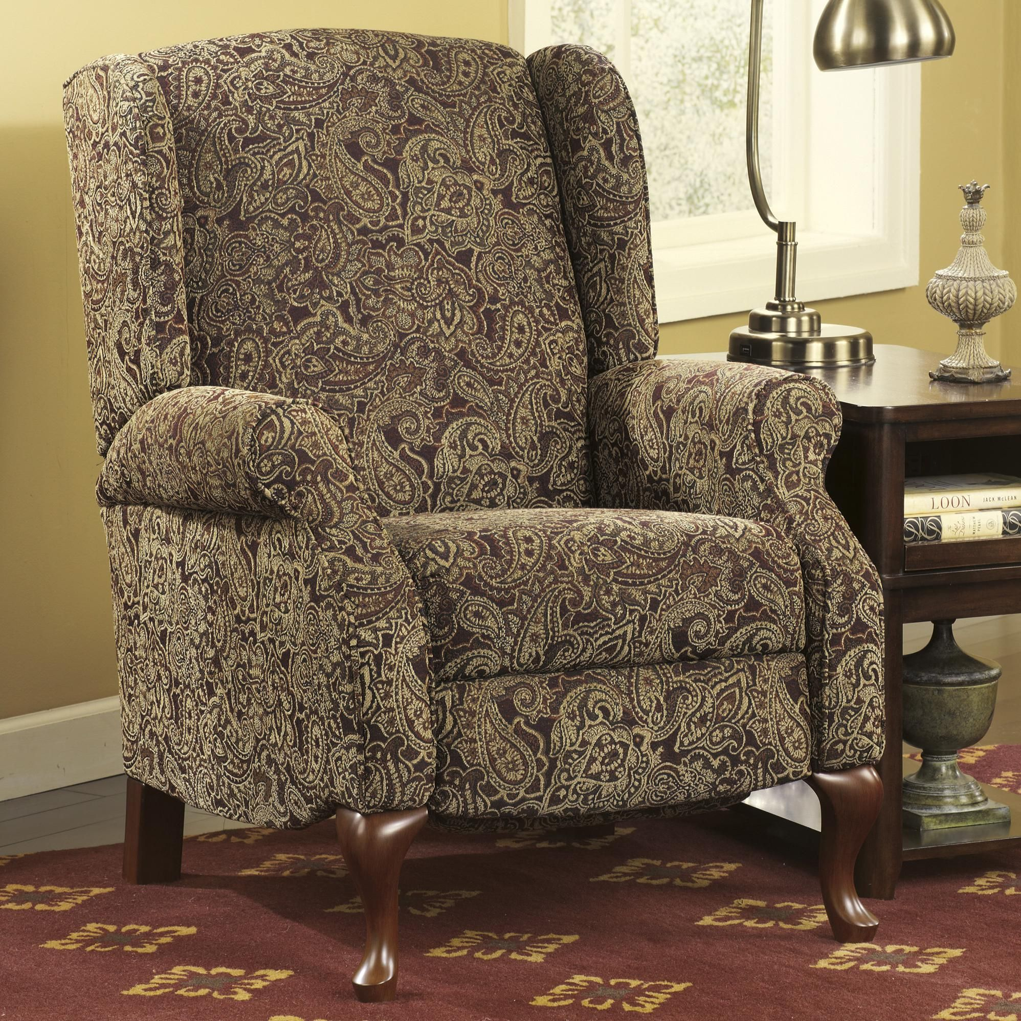 Arms Patterned Accent Chairs