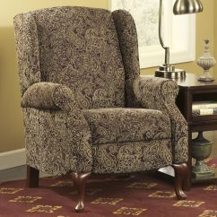 Wing Back Chair Recliner Cover Rentals Huntsville Al Nadior Paisley High Leg By Signature