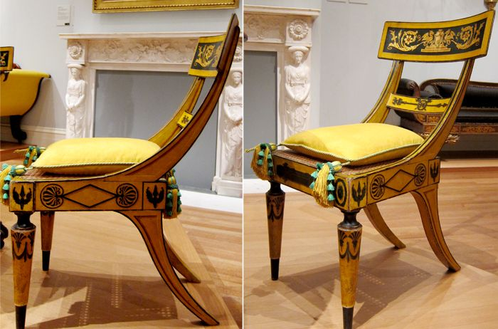 The Met NY reproduction of the dining chairs from the