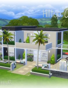 Lovely two story house for your sim or family found in tsr category  sims also rh pinterest