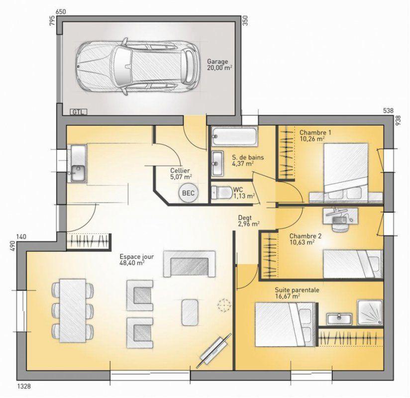 Modele Maison France Confort Latest Modle Et Plan De