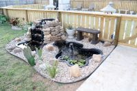 Backyard Fish Pond | My Garden | Pinterest | Fish ponds ...
