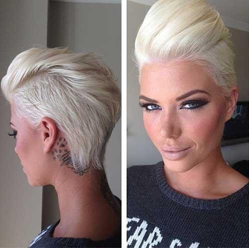 Best Short Platinum Hair For Ladies Via Missmetaverse