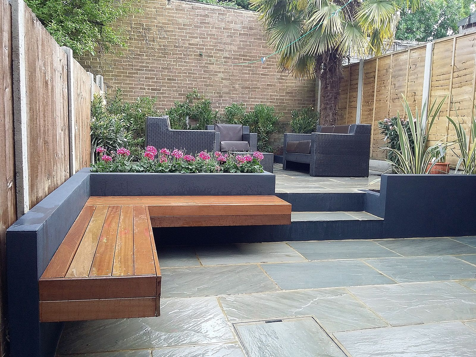 Modern Garden Design Modern Garden Design London Natural