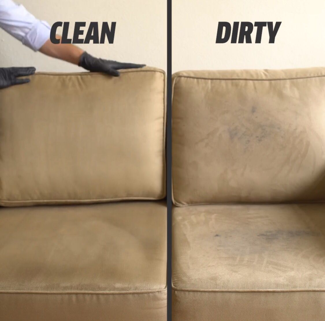 how to clean foam sofa cushions greyhound park diy couch cleaner 17oz water 5oz alcohol 3 4oz white