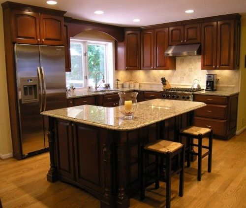 l shaped kitchen island with cabinets and design Best 25+ L shaped island ideas on Pinterest | Corner