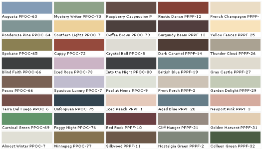 Behr Exterior Paint Colors Interior Paint Color Chart Behr  Home Painting