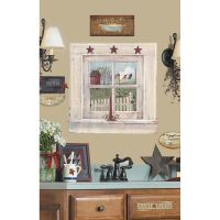 New Giant Outhouse Window Signs Wall Decals Country ...