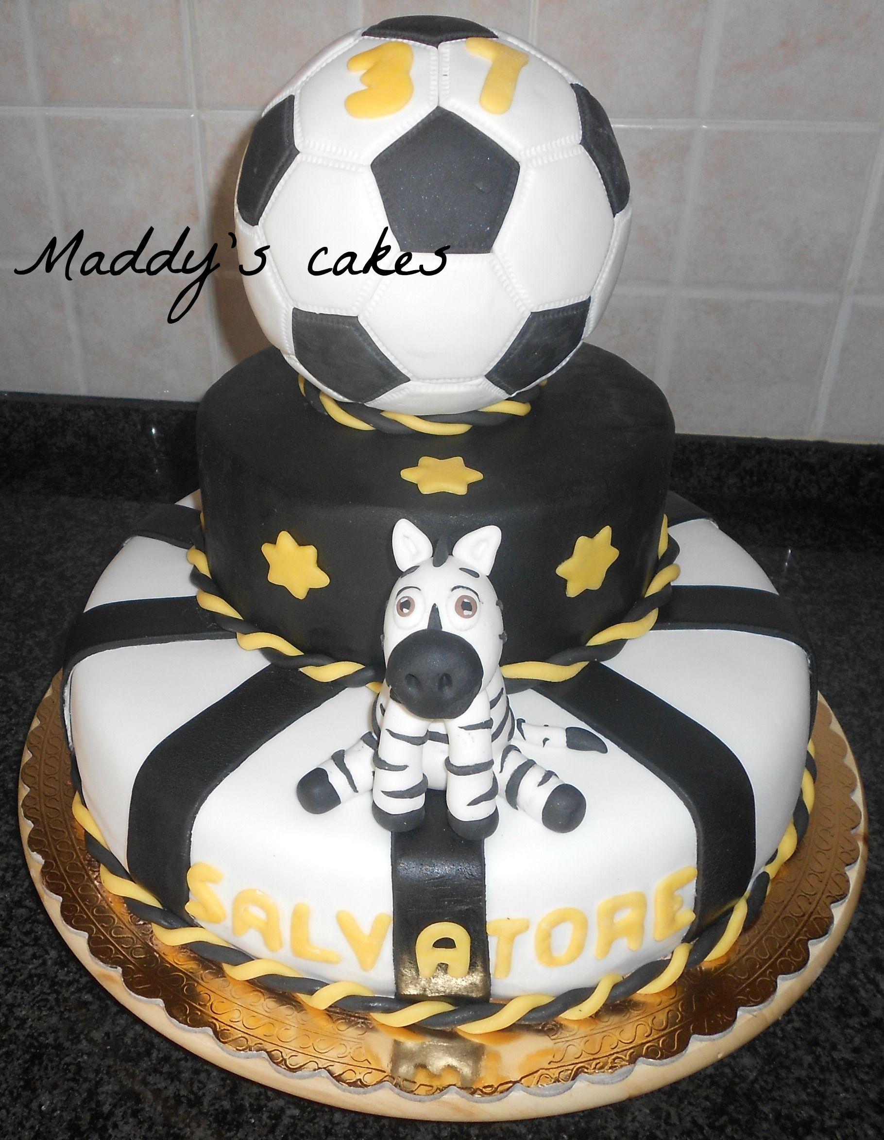 torta juventus  torte  Pinterest  Soccer cake Sport
