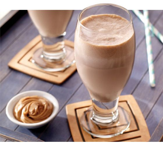 peanut butter coffee protein shake