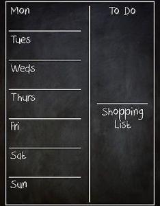 Framed dry erase board organizer new house kitchen pinterest weekly planner organizing and also rh